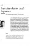 Interactief werken met causale diagrammen