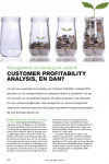 Customer profitability analysis, en dan?