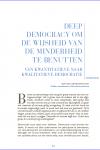 Deep Democracy om de wijsheid van de minderheid te benutten