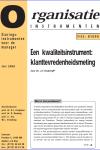 Een kwaliteitsinstrument: klanttevredenheidsmeting