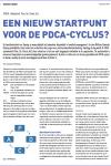 Een nieuw startpunt voor de PDCA-cyclus