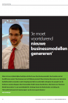 Interview met Alex Osterwalder over Business Model Generatie