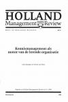 Kennismanagement als motor van de lerende organisatie