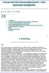 Leveranciersmanagement: vier basisstrategieën