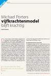 Michael Porters vijfkrachtenmodel blijft krachtig