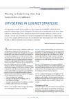Uitvoering in lijn met strategie