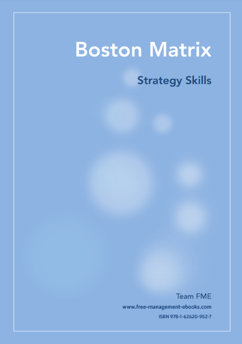 Free management ebook about the Boston Matrix
