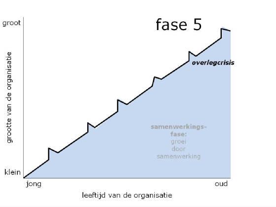 fasen van organisatie levenscyclus